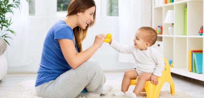 anne bebek tuvalet eğitimi