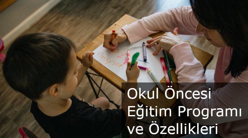 okul öncesi programı
